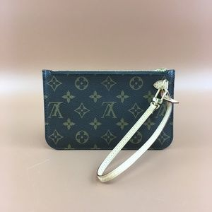 Preowned Louis Vuitton Neverfull Pochette Monogram
